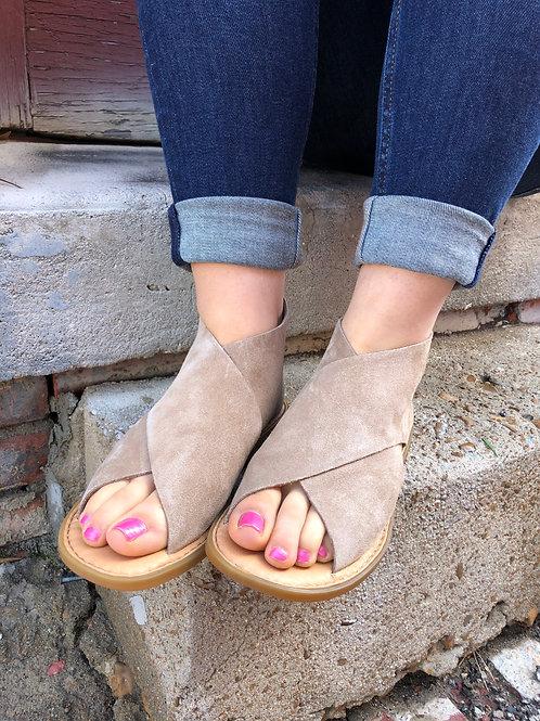 IWA Taupe Born Sandal