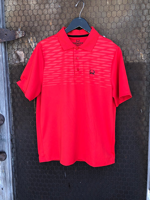 RED CINCH POLO