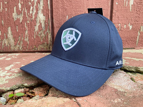 Navy Ariat Cap