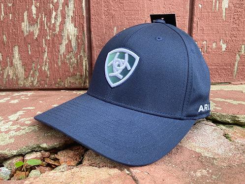 Navy Ariat Cap