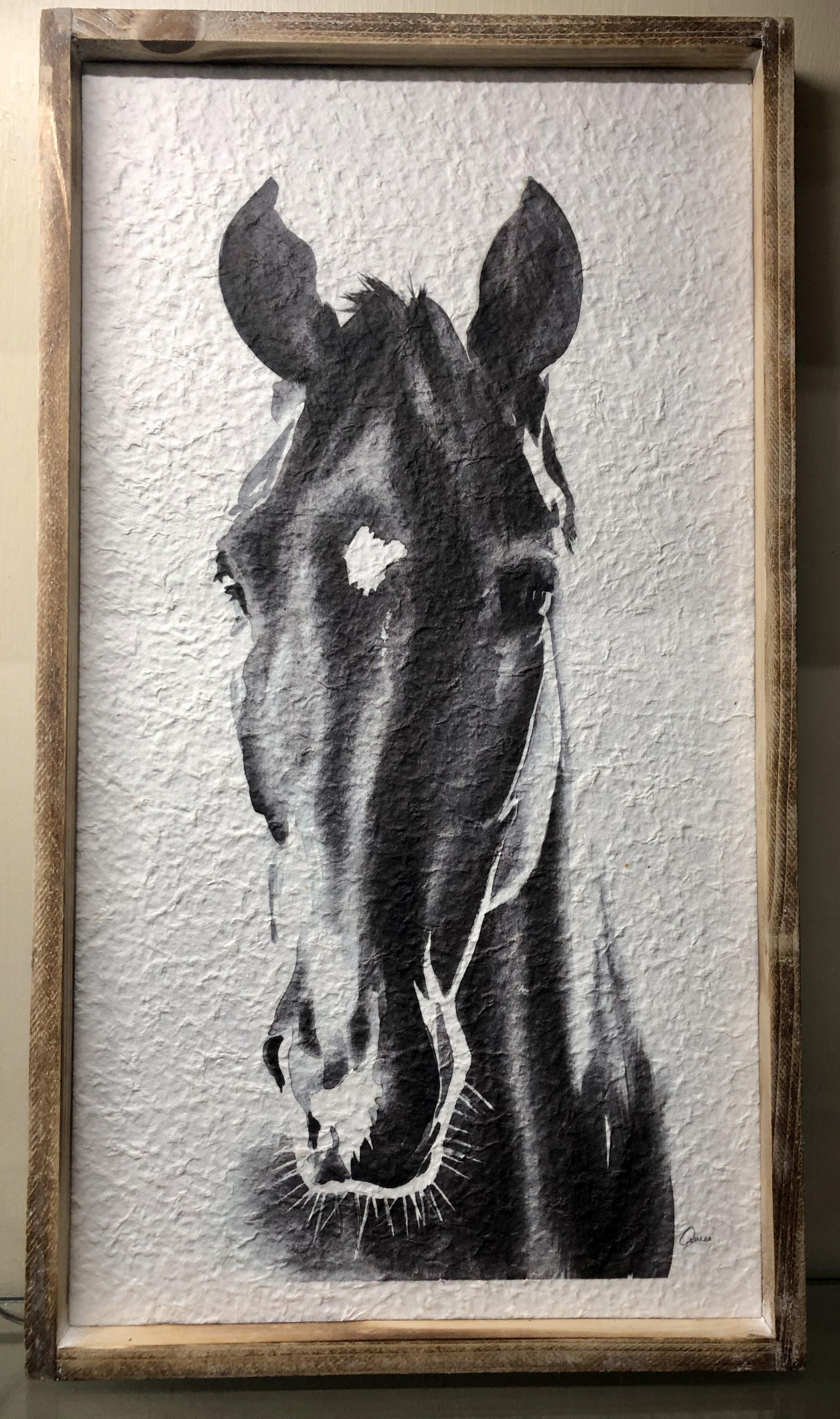 Paper Mache Horse Picture