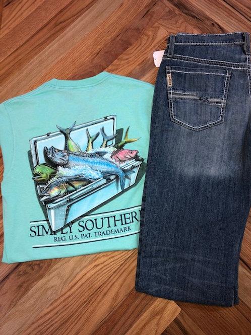 Mint Cooler of Fish T-Shirt