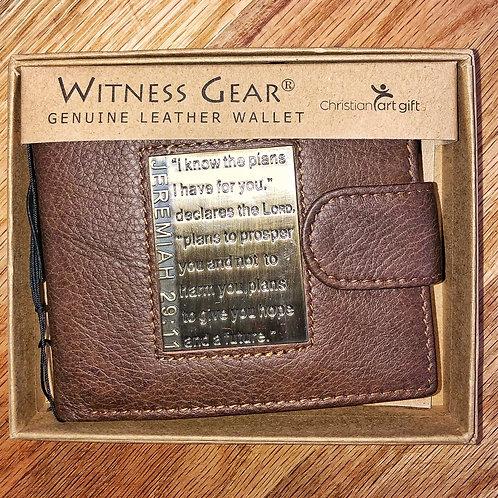 Jeremiah 29:11 Wallet