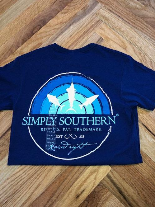 Simply Southern Blue T-Shirt