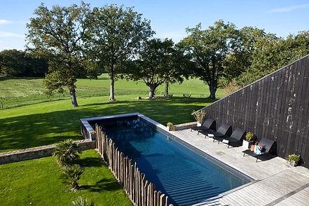 La piscine du Clos du Gusquel