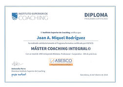 Joan Miquel Coach Master Coaching Integr