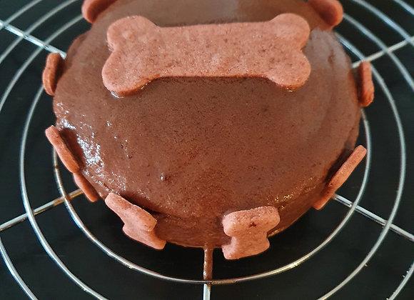 """Gâteau d'anniversaire """"Fête entre poilus"""""""