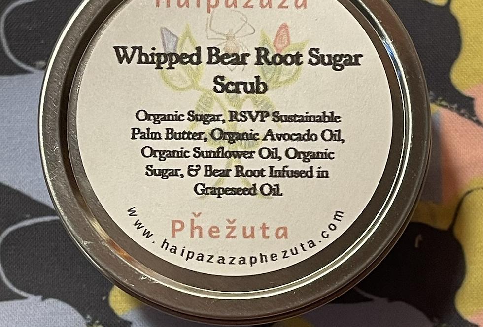 Whipped Bear Root Sugar Scrub
