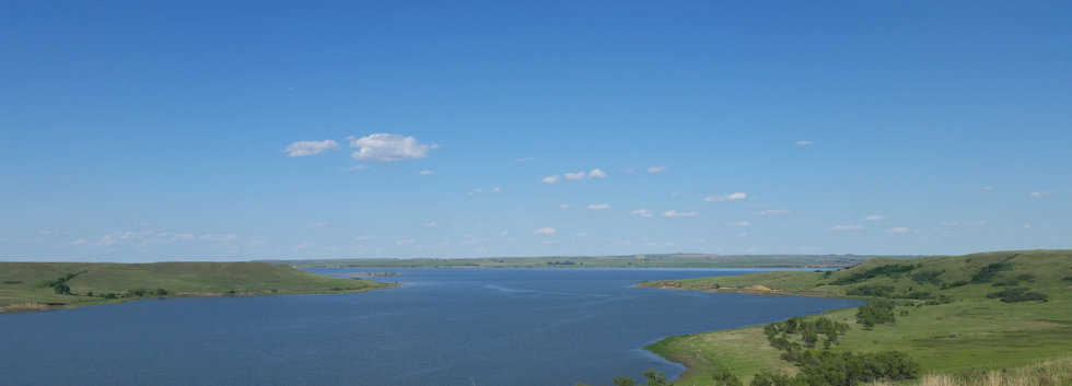 Mouth of the Porcupine Creek & Missouri River