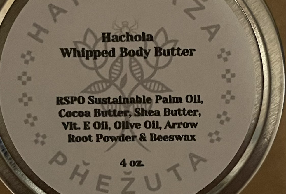 Whipped Hachola Body Butter