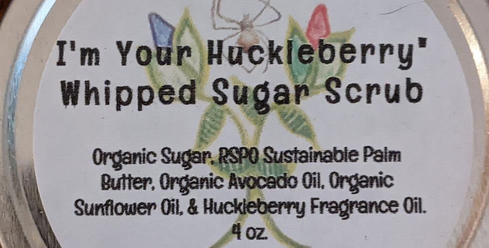 "Whipped ""I'm Your Huckleberry"" Sugar Scrub"