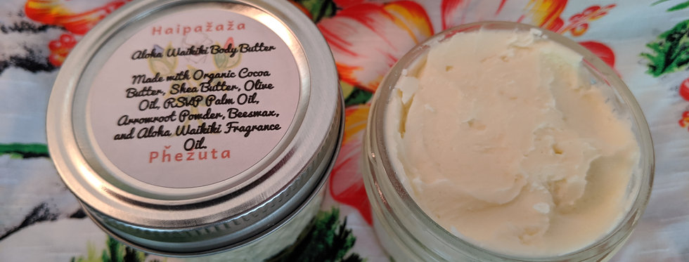 Whipped Aloha Waikiki Body Butter