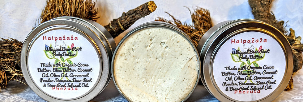 Whipped Bear Root Body Butter