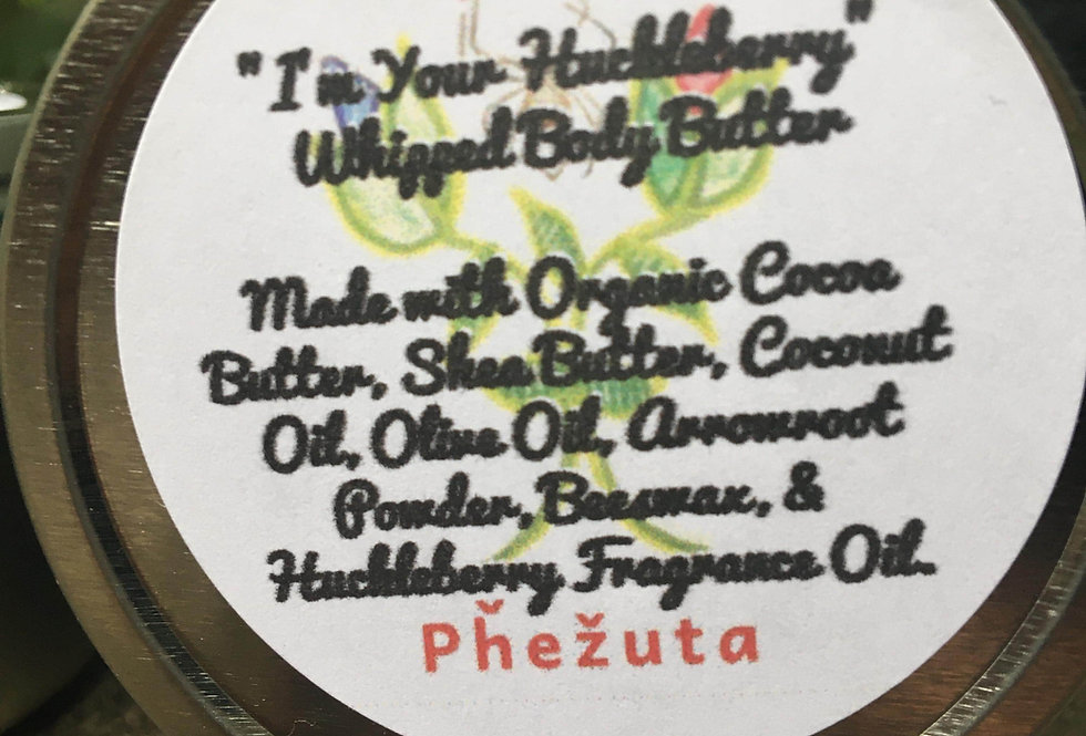 "Whipped ""I'm Your Huckleberry"" Body Butter"