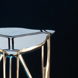 table in nickel silver