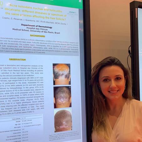 Apresentação em pôster no Congresso Mundial de Dermatologia. Junho 2019