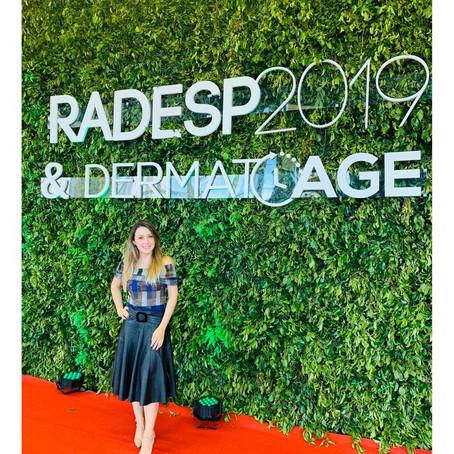 Reunião anual dos dermatologistas de São Paulo (Radesp). Outubro de 2019