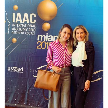 Curso Internacional de Anatomia e Estética - IAAC - Miami. Setembro de 2019.