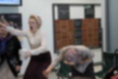 Grannies dancing