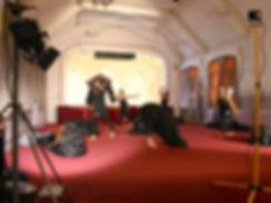 dance film shoot