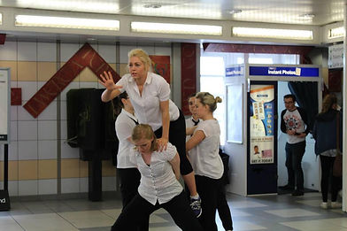 Walsall Train Station dance