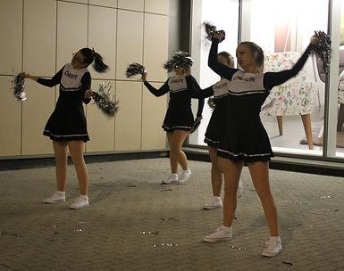 grumpy cheerleader light festival