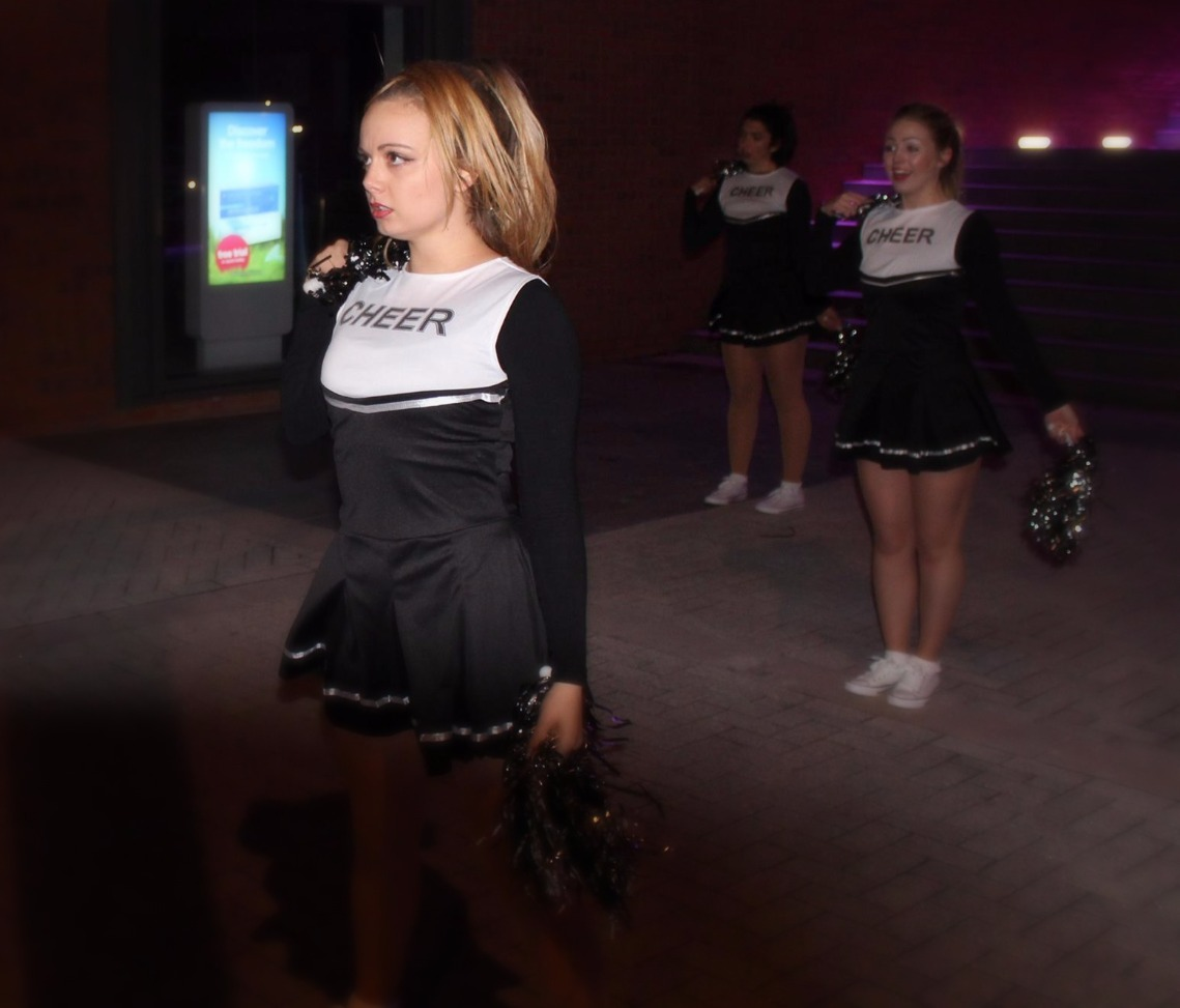 Grumpy Cheerleaders 2016