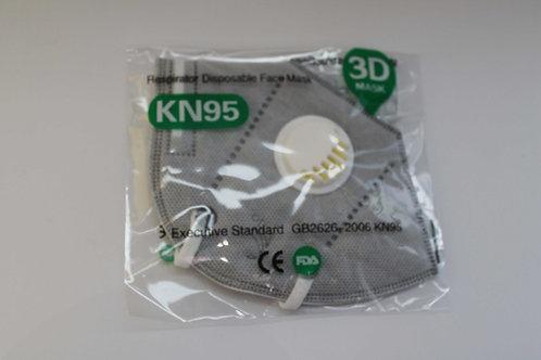 Máscara KN95 com válvula