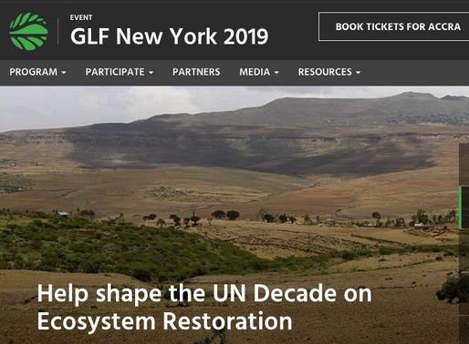 Restore the Earth - Global Landscapes Forum
