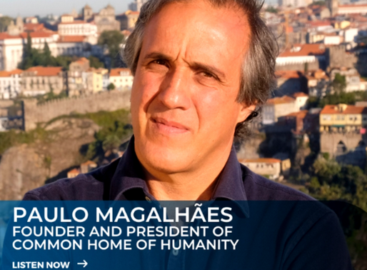 Fourth episode Common Home Conversations with Paulo Magalhães