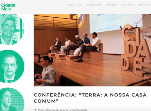 Cidade+ Conference : Earth System our Common Home