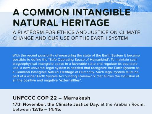 UNFCCC COP 22 - Marrakesh