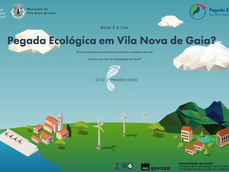 Vila Nova de Gaia recebe Calculadora da Pegada Ecológica