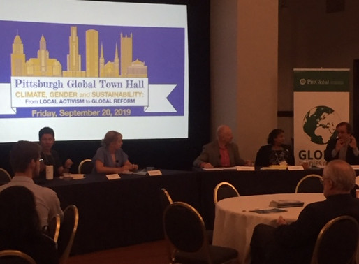 Pittsburgh Global Town Hall - Climate, Gender and Sustainability
