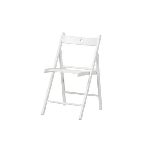 Сгъваем стол под наем във Варна бял цвят