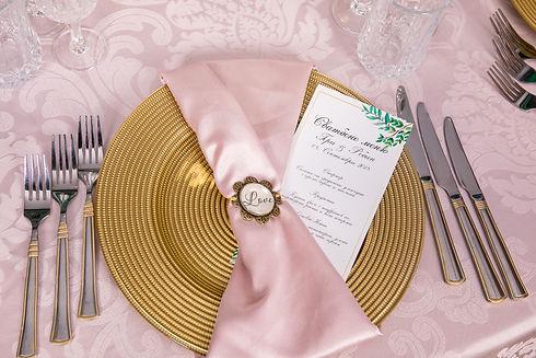 Подложна чиния под наем във Варна, цвят злато/златна/златист