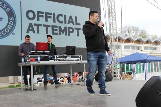 Световен рекорд с МУ - Варна
