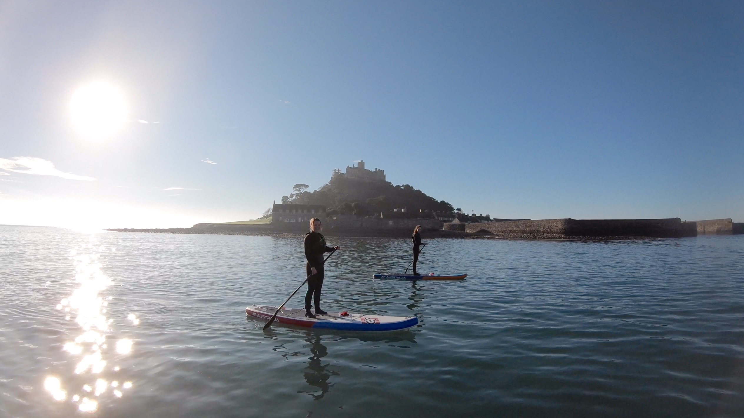 SUP St Michaels Mount