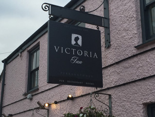 Victoria Inn Hanging Sign