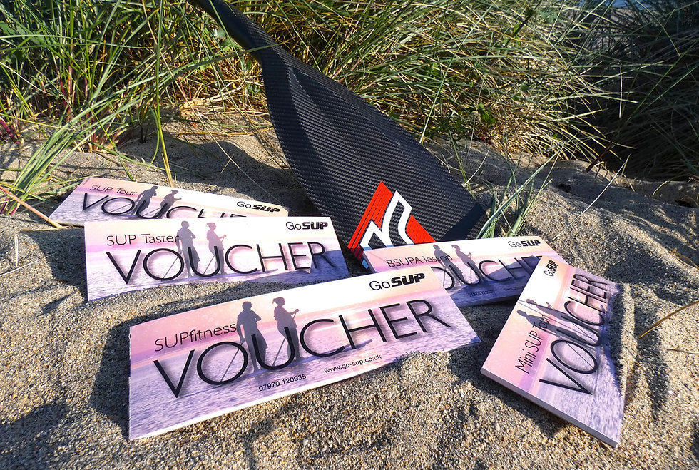 SUP Vouchers from GoSUP