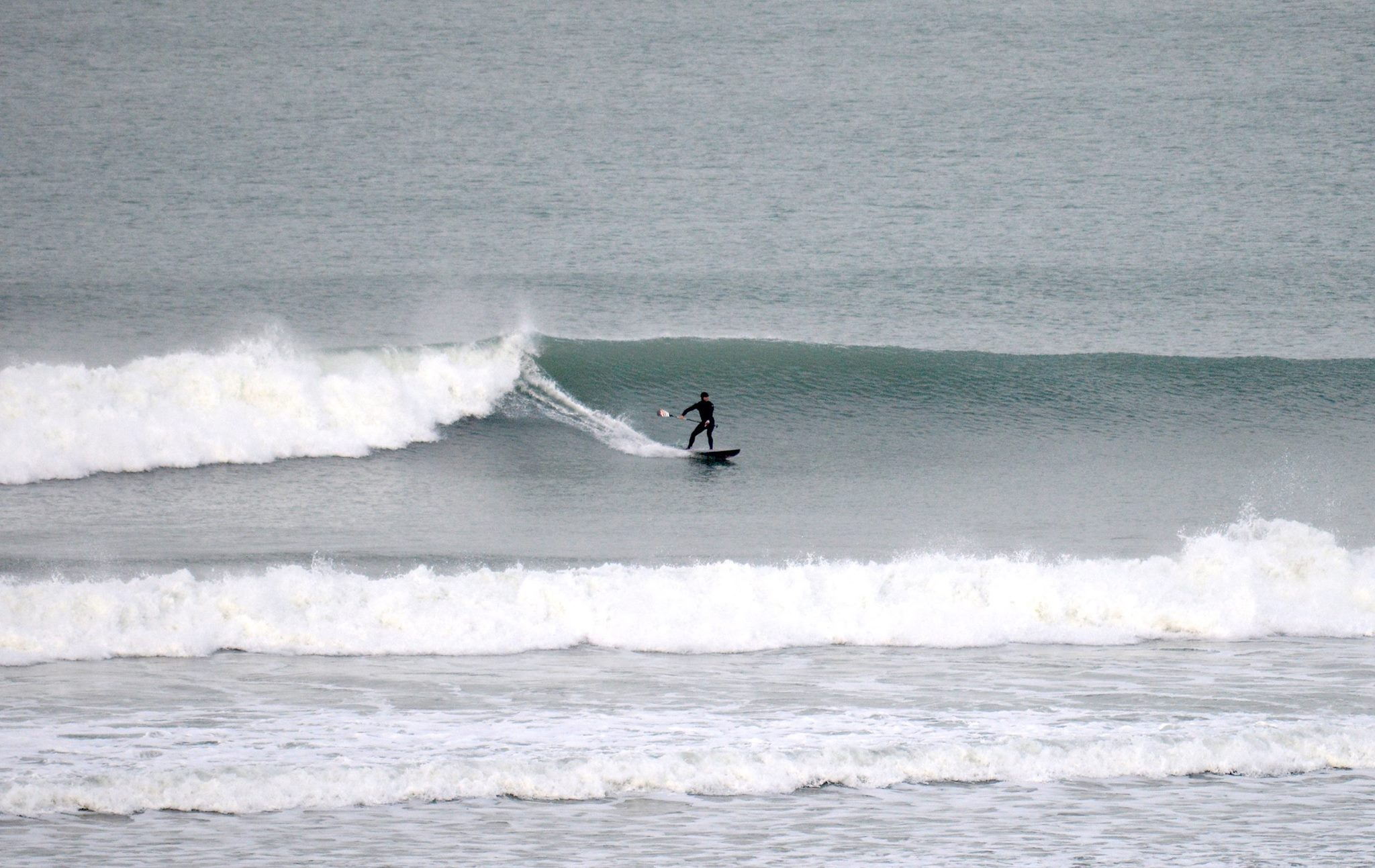 SUP surfing Cornwall