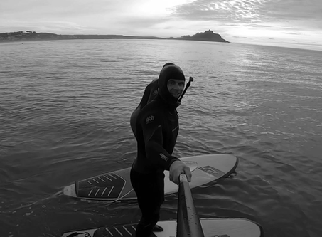 Xmas surf and foil