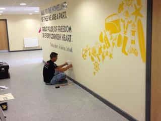 Wall vinyl @cornwallservices