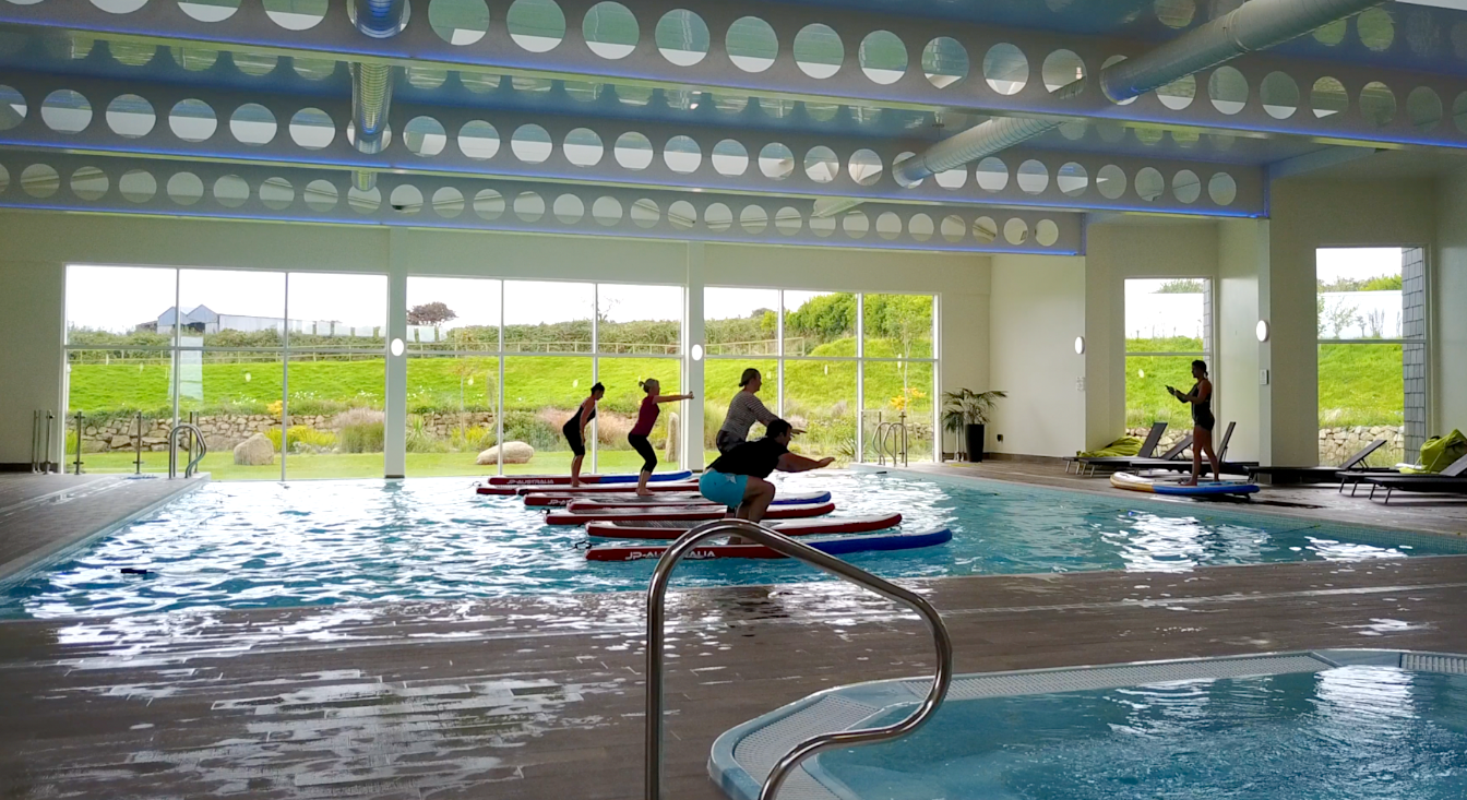 SUP fitness, St Ives
