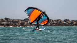 switch stance wing foiling