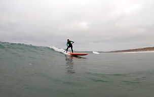 SUP surf lessons cornwall