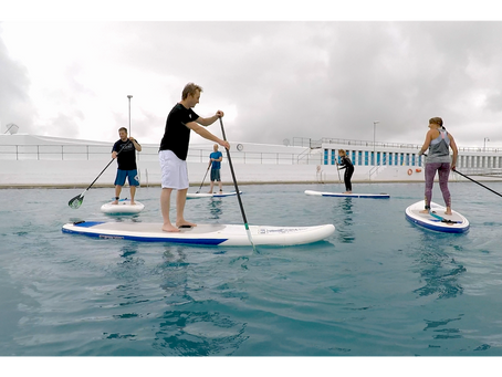 Exclusive SUP Lessons at Jubilee Pool