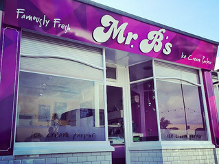 New shop frontage for Mr B's