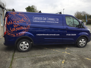 Carpenter Oak Van Graphics