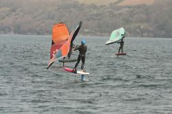 Wing foil coaching Cornwall